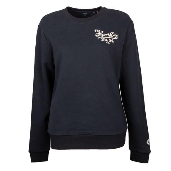 Superdry Womens Blue Pride In Craft Sweatshirt
