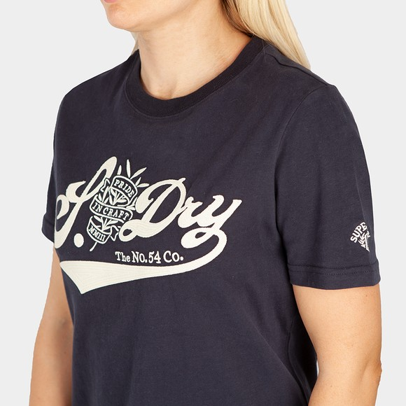 Superdry Womens Blue Pride In Craft T-Shirt