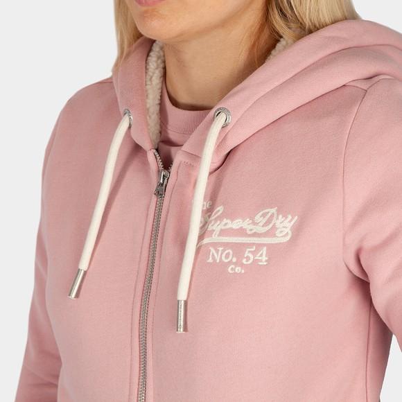 Superdry Womens Pink Pride In Craft Zip Hoody main image