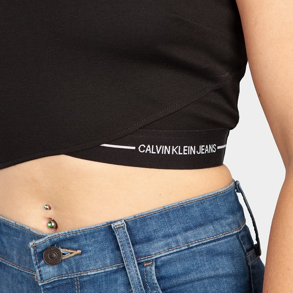 Calvin Klein Jeans Womens Black Milano Tank Top main image
