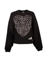 Text Heart Sweatshirt