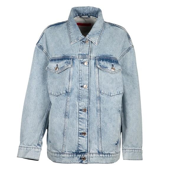 HUGO Womens Blue Giannina Denim Jacket