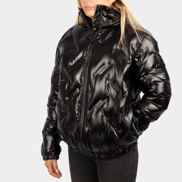 HUGO Womens Black Fariana Jacket