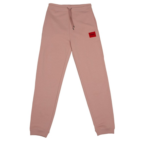HUGO Womens Pink Dachibi Jogger