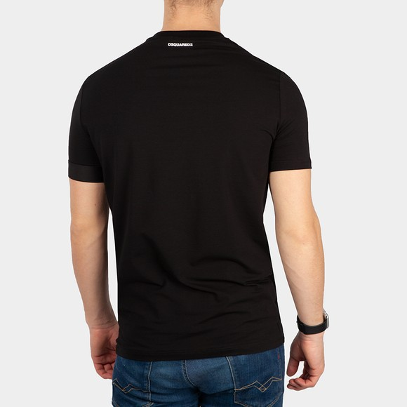 Dsquared2 Mens Black Icon Sleeve T Shirt main image
