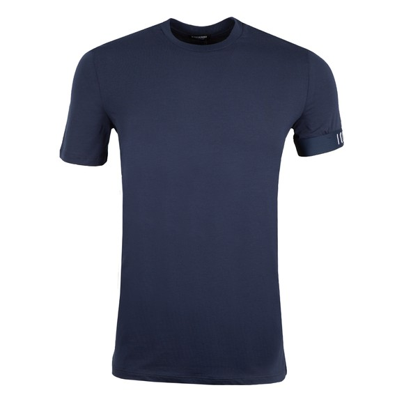 Dsquared2 Mens Blue Icon Sleeve T Shirt
