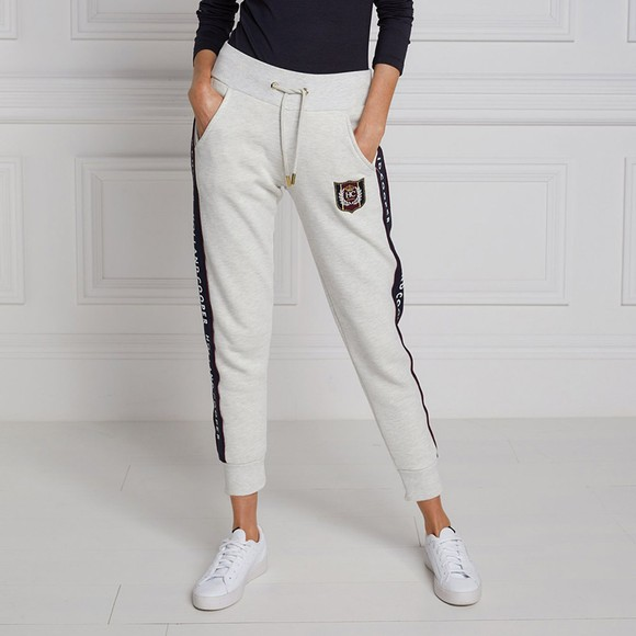 Holland Cooper Womens Grey Crested Joggers main image