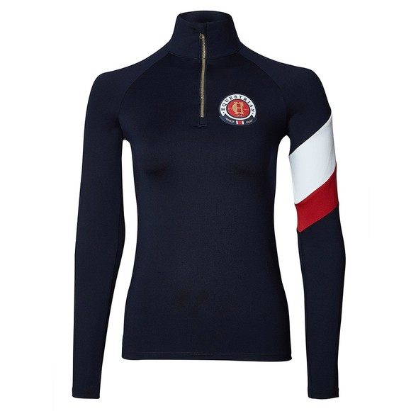 Holland Cooper Womens Blue Heritage Base Layer
