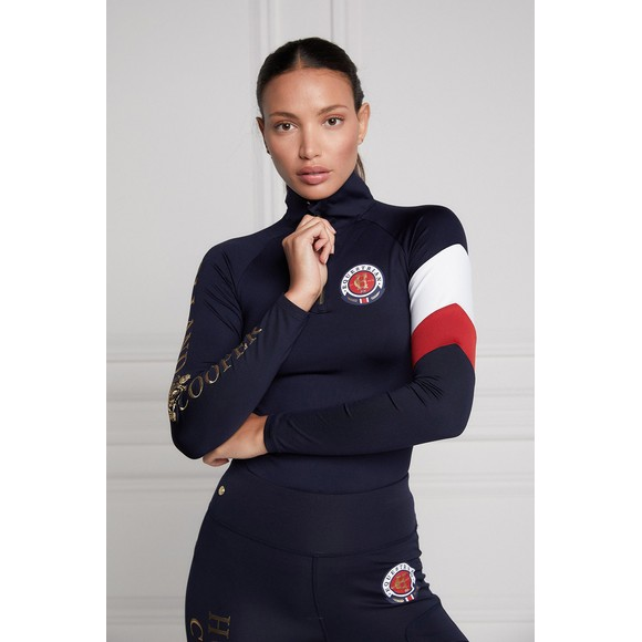 Holland Cooper Womens Blue Heritage Base Layer main image