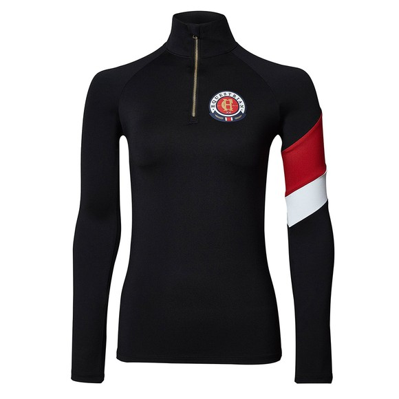 Holland Cooper Womens Black Heritage Base Layer