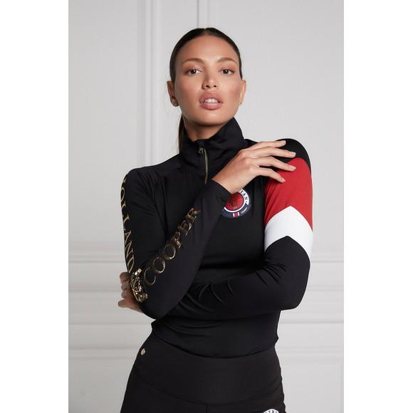 Holland Cooper Womens Black Heritage Base Layer main image