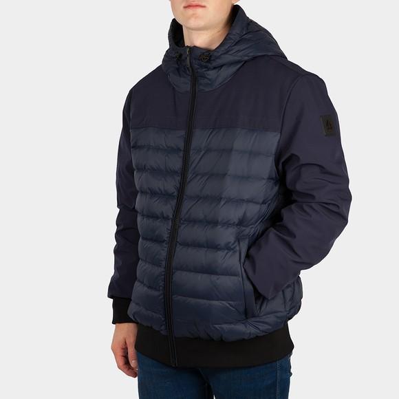 Moose Knuckles Mens Blue Kleskun Jacket