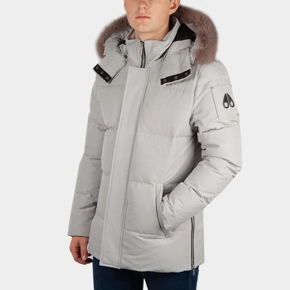 Moose Knuckles Mens Grey Richardson Jacket