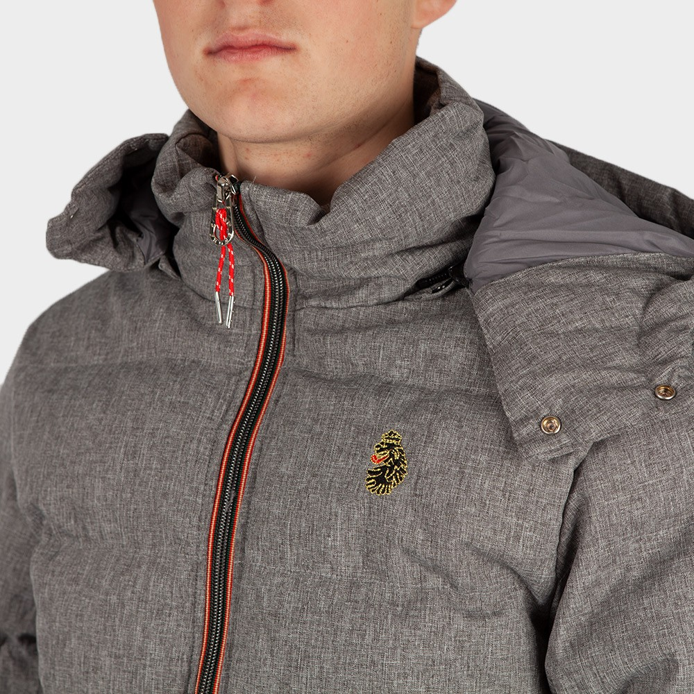 Mallard Heavy Quilted Funnel Jacket main image