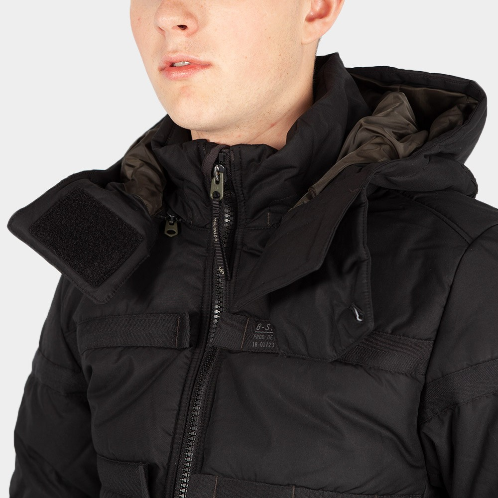Attac Tape Quilted Padded Jacket main image