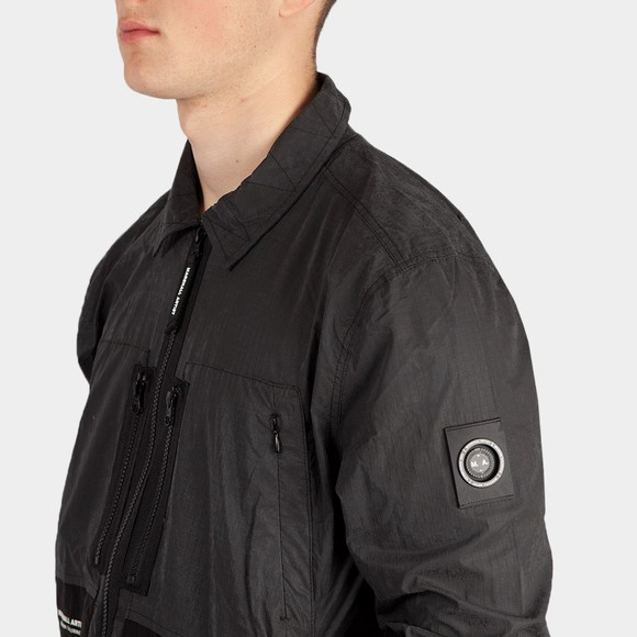Marshall Artist Mens Black Reflective Overshirt main image