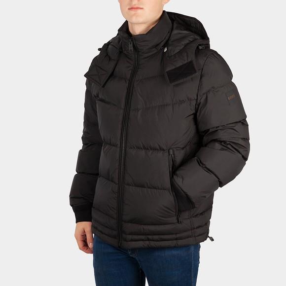 BOSS Mens Black Casual Otu Jacket