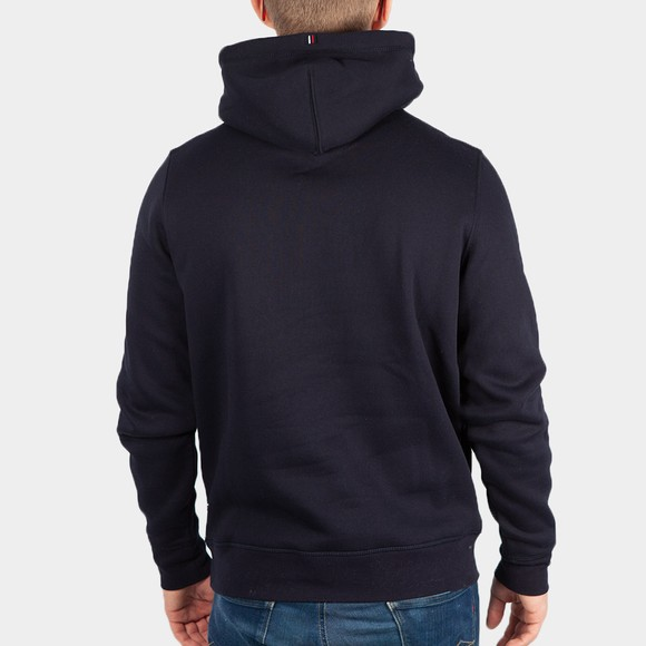 Tommy Hilfiger Mens Blue Stacked Hooded Sweatshirt main image