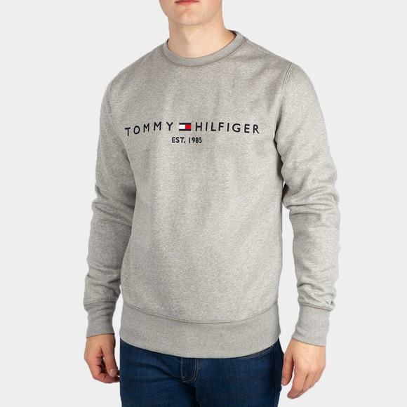 Tommy Hilfiger Mens Grey Logo Sweatshirt