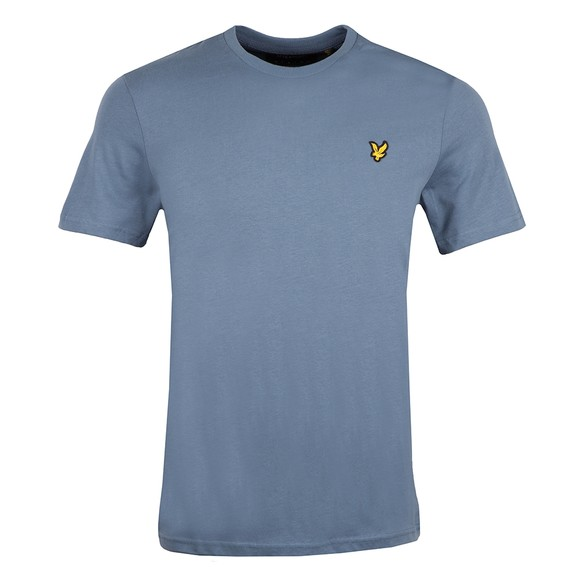 Lyle and Scott Mens Blue Basic T-Shirt