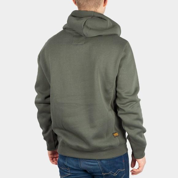G-Star Mens Blue Premium Core Hooded Sweatshirt main image