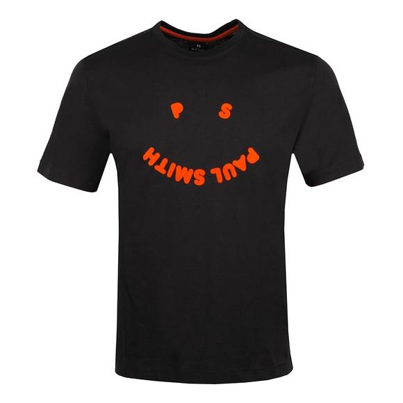 PS Paul Smith Mens Black Happy T-Shirt