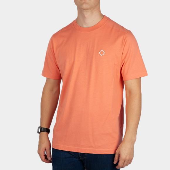 Ma.Strum Mens Orange Core Icon T-Shirt