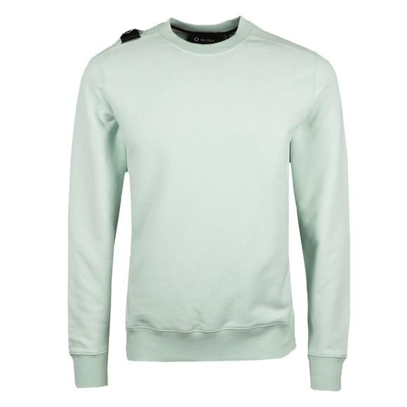 Ma.Strum Mens Green Core Crew Sweatshirt