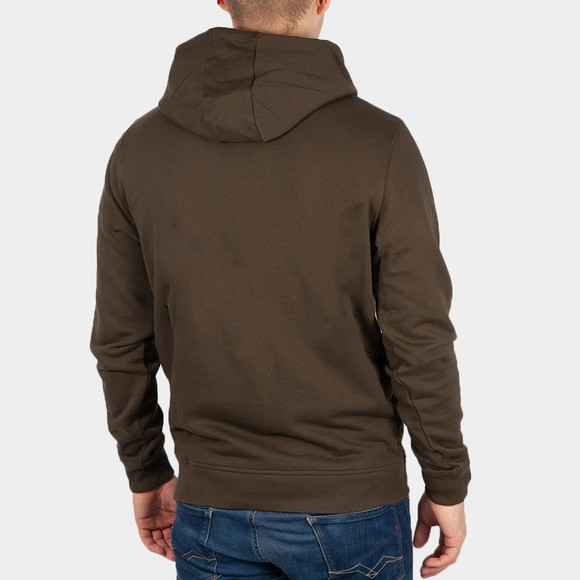 Lyle and Scott Mens Green Pullover Hoodie main image