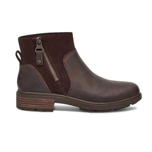 Ugg Womens Brown Harrison Zip Boot