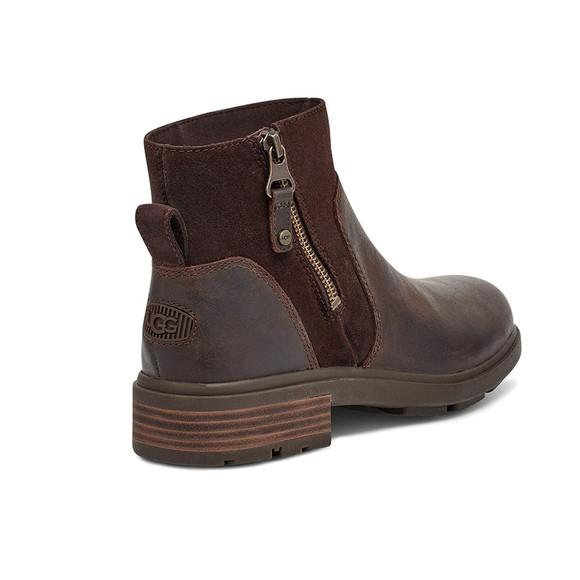 Ugg Womens Brown Harrison Zip Boot main image