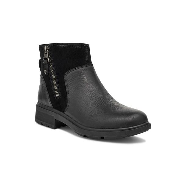 Ugg Womens Black Harrison Zip Boot