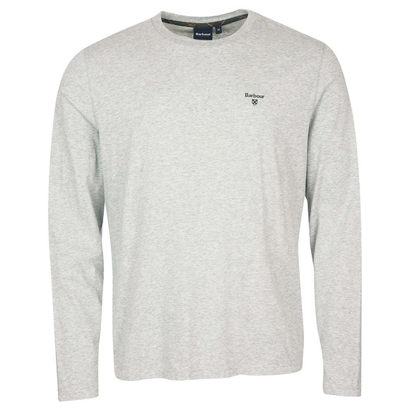 Barbour Lifestyle Mens Grey Sheldon L/S T-Shirt
