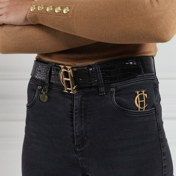 Holland Cooper Womens Brown Reversible HC Classic Belt main image