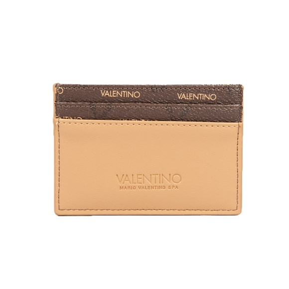 Valentino Bags Womens Brown Liuto Credit Card Holder