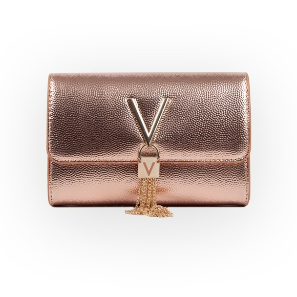 Valentino Bags Womens Pink Divina Clutch Bag