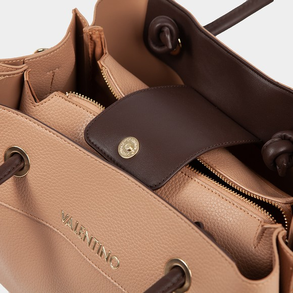 Valentino Bags Womens Brown Alexia Tote Bag