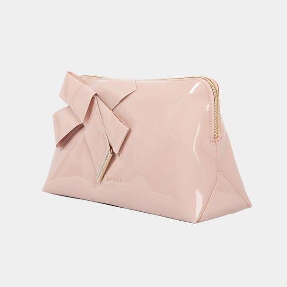 Ted Baker Womens Pink Nicco Knot Bow Washbag
