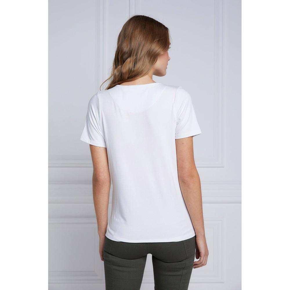 Serif V Neck T Shirt main image