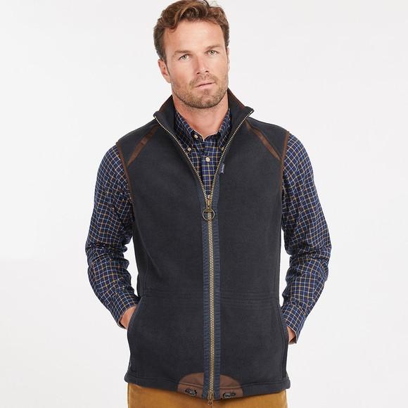 Barbour Countrywear Mens Blue Langdale Fleece Gilet main image
