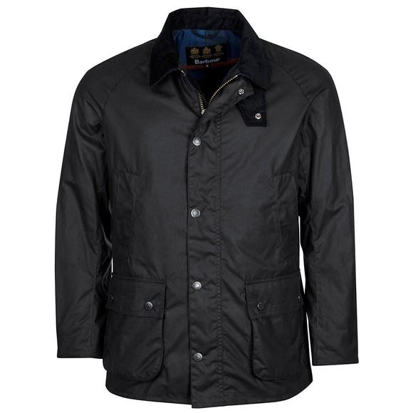 Barbour Lifestyle Mens Blue Bodey Wax Jacket