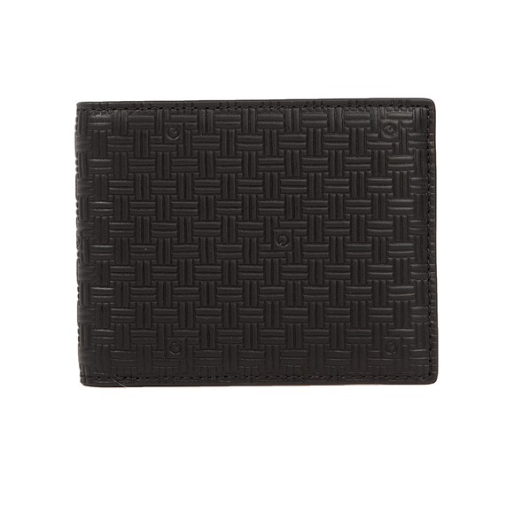 Gant Mens Black Signature Weave Wallet main image