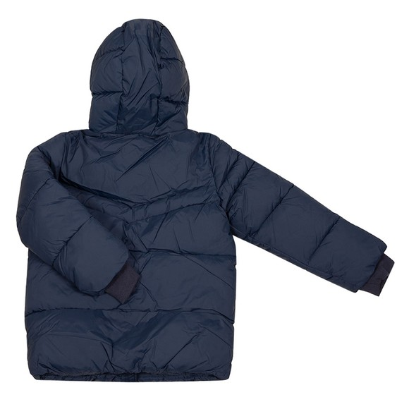 BOSS Boys Blue J26458 Puffer Jacket