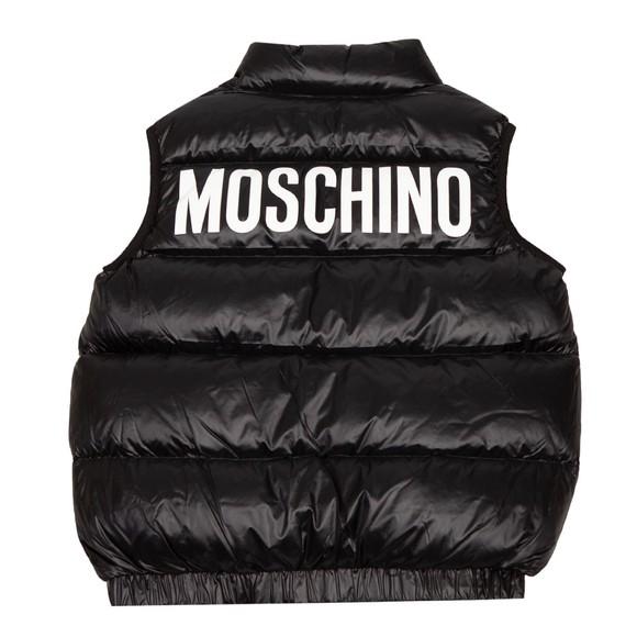 Moschino Boys Black Bear Gilet main image