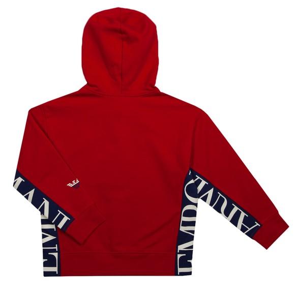 Emporio Armani Boys Red 6K4BJ5 Full Zip Hoody