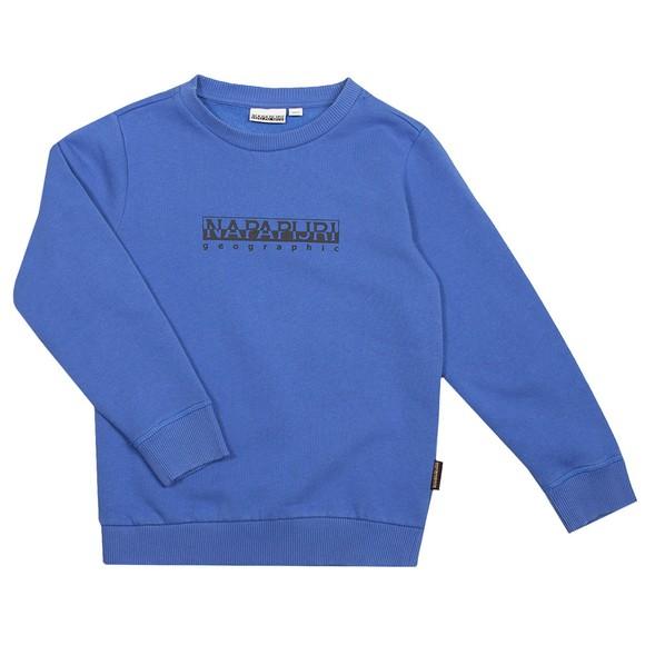 Napapijri Boys Blue K B-Box Crew Sweatshirt