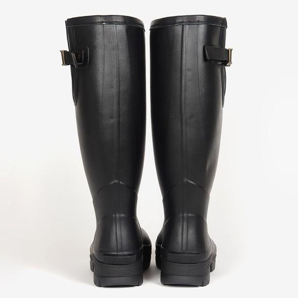 Barbour Countrywear Mens Black Tempest Wellington Boot main image