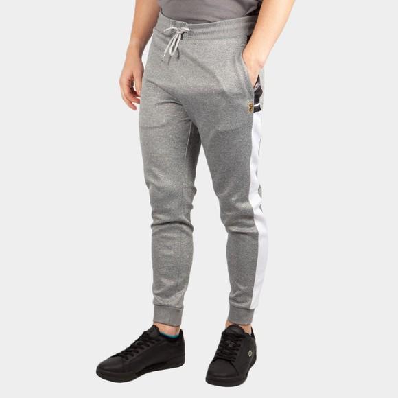 Luke Sport Mens Grey Lashing Colour Block Joggers