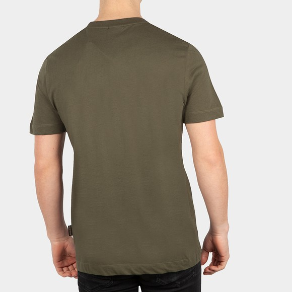 Napapijri Mens Green Serber Print T-Shirt main image