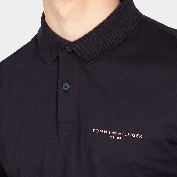 Tommy Hilfiger Mens Blue Clean Jersey LS Polo main image